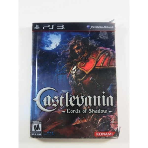CASTLEVANIA LORDS OF SHADOW COLLECTOR S EDITION SONY PLAYSTATION 3 (PS3) USA (COMPLETE - SLEEVE DAMAGED)