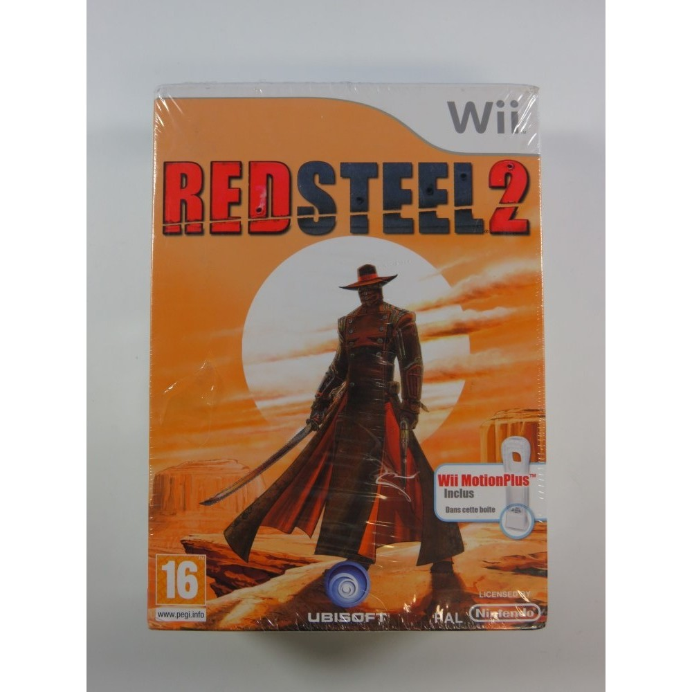 RED STEEL 2 + WII MOTION PLUS WII PAL-FR NEW