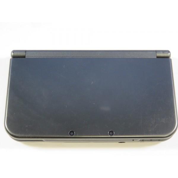 CONSOLE NEW 3DS XL METALLIC BLACK MODIFIEE PAL-EURO OCCASION
