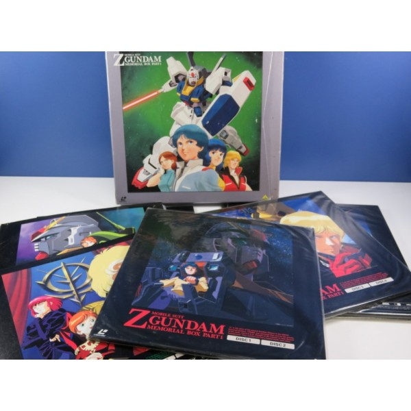 LD MOBILE SUIT GUNDAM Z MEMORIAL BOX PART1&2 26 EPISODES FULL SET (13 LASER DISCS) NTSC-JPN