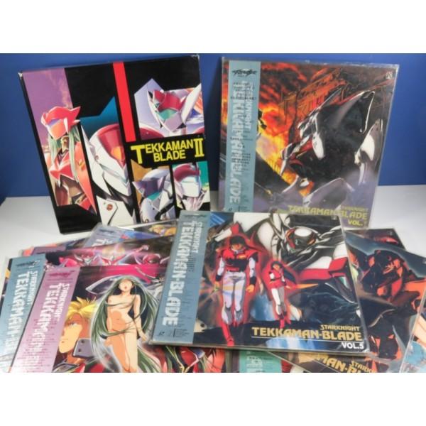 LD STAR KNIGHT TEKKAMAN BLADE I & II FULL SET (18 LASER DISCS) NTSC-JPN YOSHITAKA AMANO