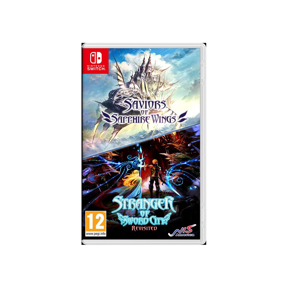 SAVIORS OF SAPPHIRE WINGS STRANGER OF SWORD CITY REVISITED - SWITCH Précommande