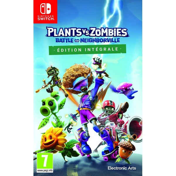 PLANTS VS ZOMBIES BATTLE FOR NEIGHBORVILLE COMPLETE EDITION SWITCH FR NEW