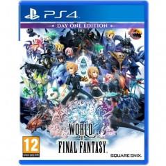 WORLD OF FINAL FANTASY PS4 UK NEW
