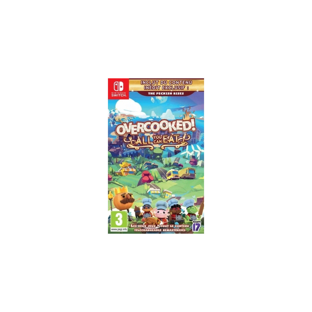 OVERCOOKED! ALL YOU CAN EAT SWITCH FR NEW