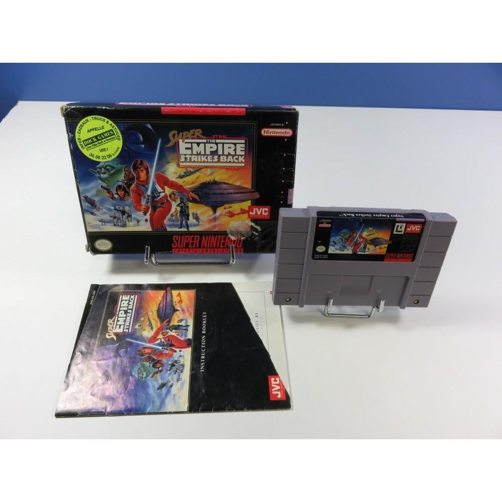 SUPER STAR WARS - THE EMPIRE STRIKES BACK SUPER NES (SNES) NTSC-USA (COMPLET)