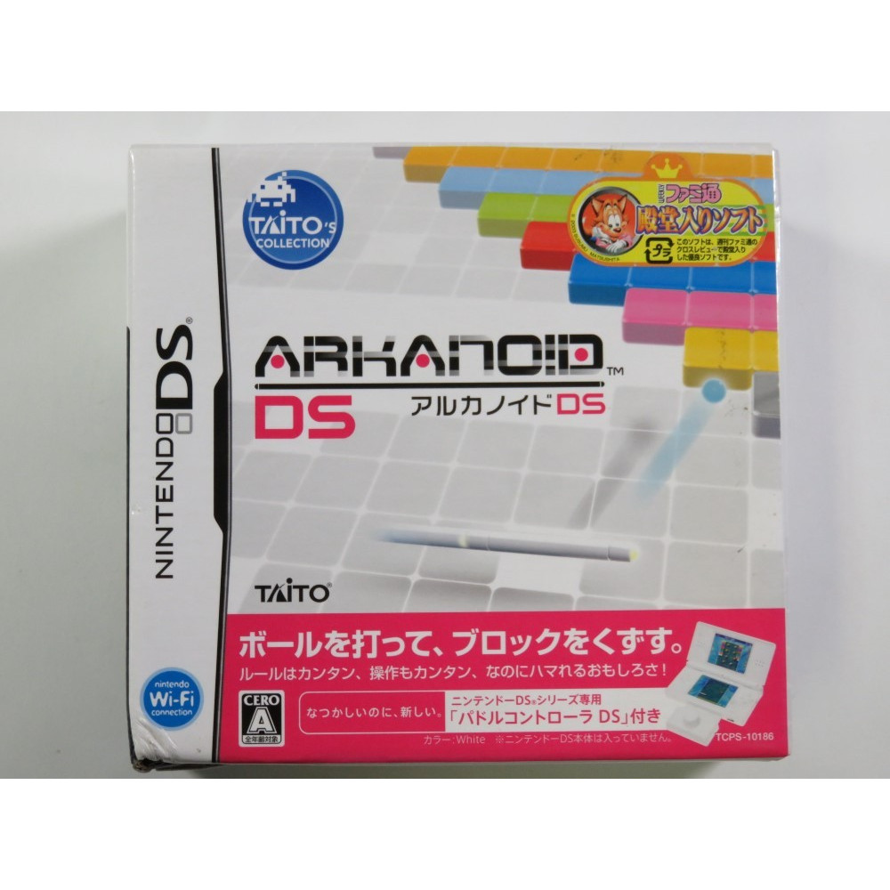 ARKANOID DS NINTENDO DS (NDS) JPN (PADDLE CONTROLLER PACK) - (NEUF - BRAND NEW)