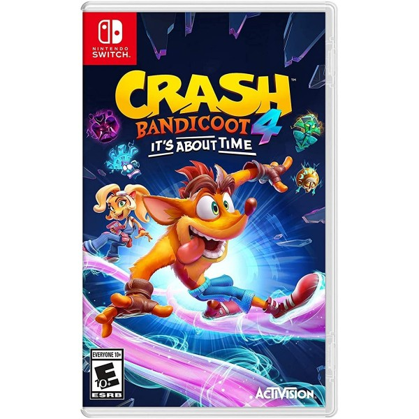 CRASH BANDICOOT 4 IT S ABOUT TIME SWITCH US NEW