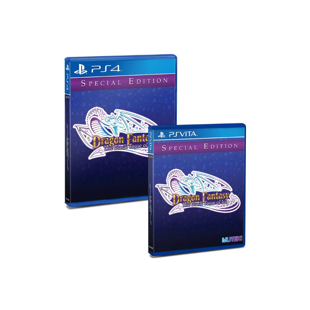 DRAGON FANTASY THE BLACK TOME OF ICE SPECIAL EDITION PS4 USA NEW
