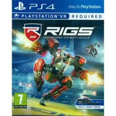 RIGS MECHANIZED COMBAT LEAGUE PS4 FR OCCASION