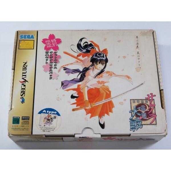 SAKURA TAISEN SEGA SATURN NTSC-JPN (LIMITED TYPE A) - (COMPLETE - GOOD CONDITION)