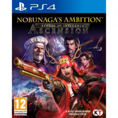 NOBUNAGA S AMBITION SPHERE OF INFLUENCE ASCENSION PS4 FR NEW
