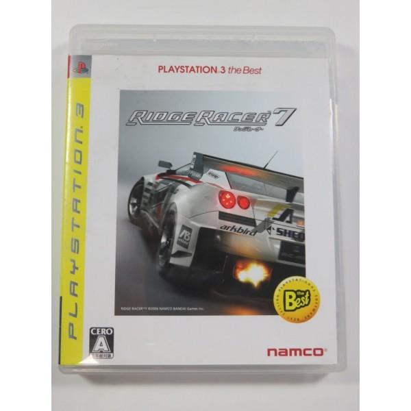RIDGE RACER 7 PS3 JAPAN ED. (REGION FREE) GOOD CONDITION