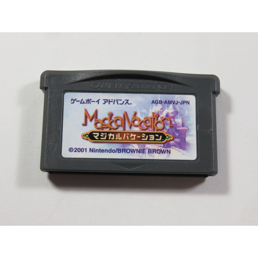 MAGICAL VACATION (MAGICAL STARSIGN S PREQUEL)(GAMEBOY ADVANCE (GBA) JPN (CARTRIDGE ONLY - GOOD CONDITION)