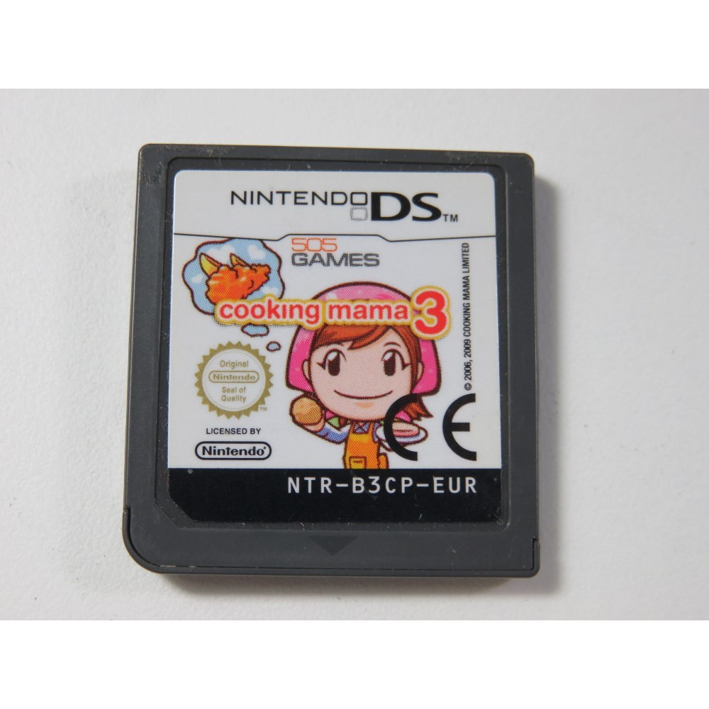 COOKING MAMA 3 NINTENDO DS (NDS) EUR (CARTRIDGE ONLY)