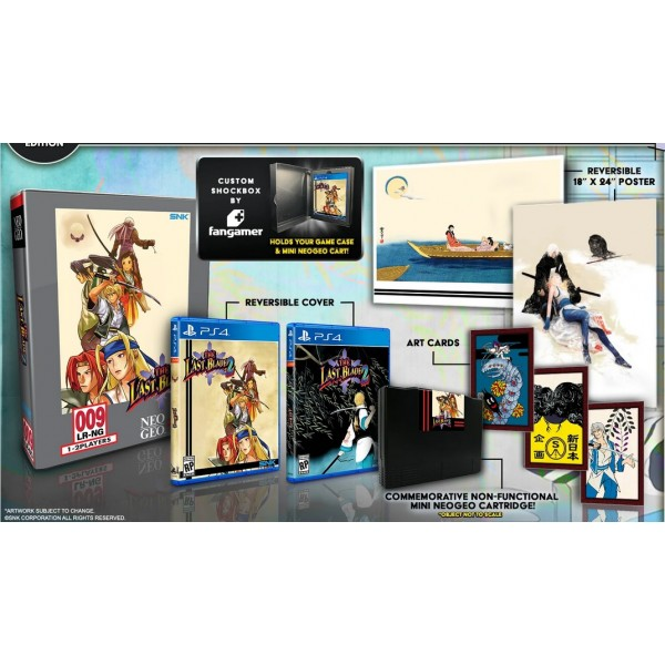 THE LAST BLADE 2 COLLECTOR PS4 US NEW(LIMITED RUN GAMES)
