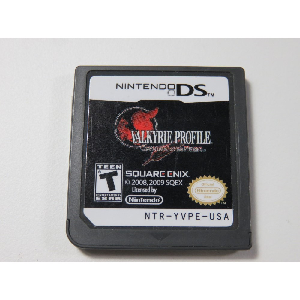 VALKYRIE PROFILE COVENANT OF THE PLUME NINTENDO DS (NDS) USA (CARTRIDGE ONLY)
