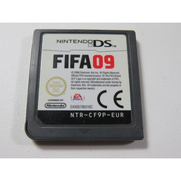 FIFA 09 NINTENDO DS (NDS) EUR (CARTRIDGE ONLY)