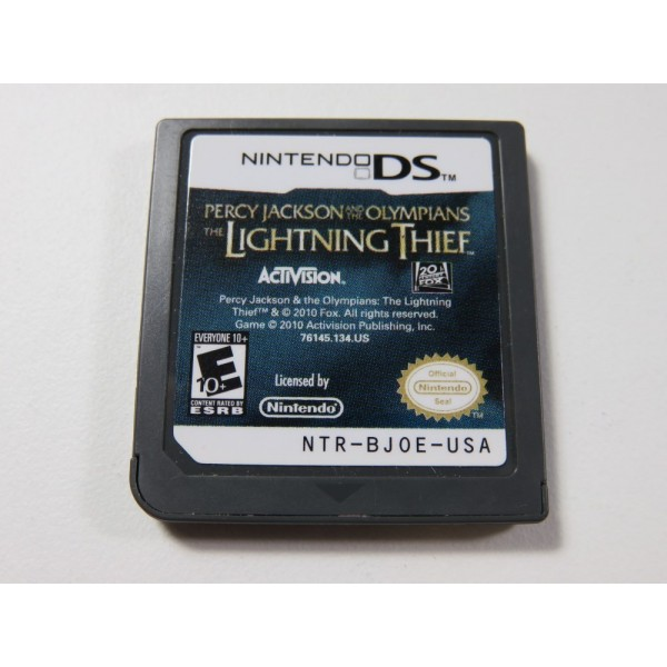 PERCY JACKSON & THE OLYMPIANS : THE LIGHTNING THIEF NINTENDO DS (NDS) USA (CARTRIDGE ONLY)