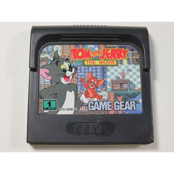 TOM AND JERRY THE MOVIE SEGA GAME GEAR EURO (CARTRIDGE ONLY)
