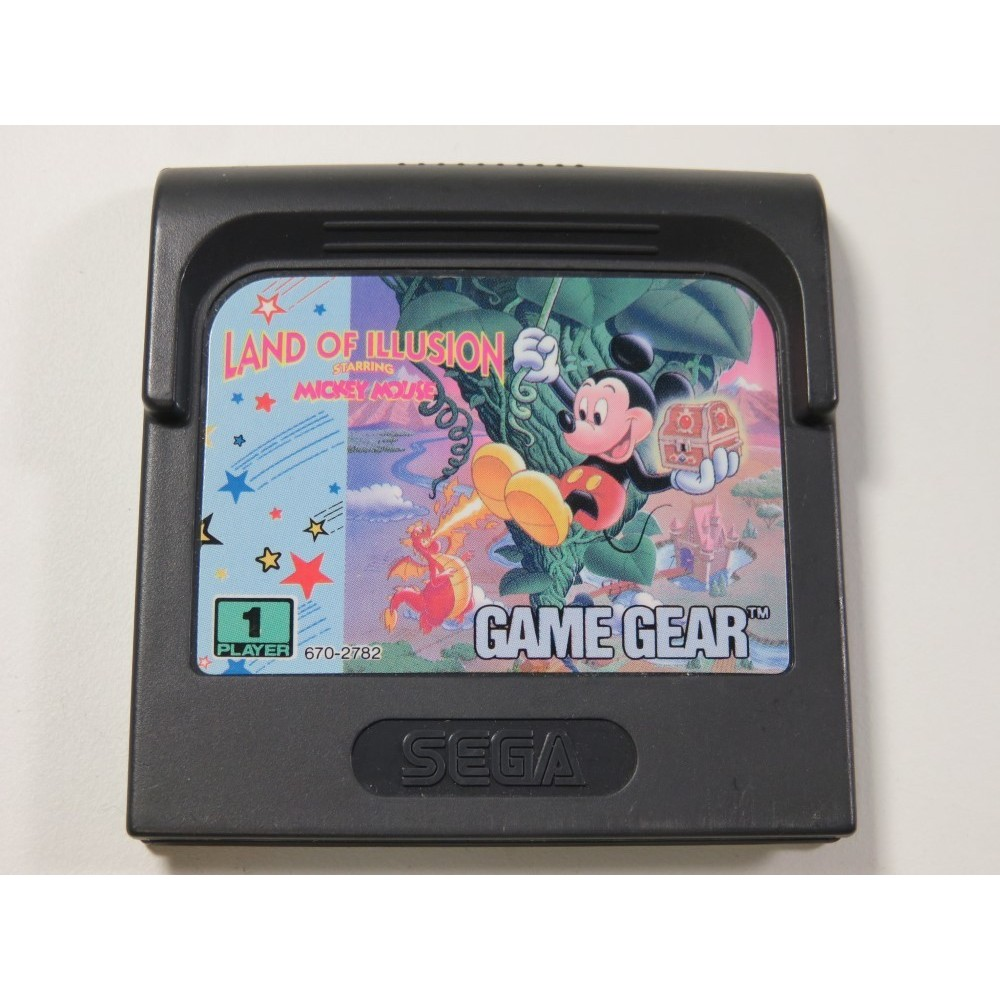LAND OF ILLUSION STARRING MICKEY MOUSE SEGA GAME GEAR EURO (CARTRIDGE ONLY)
