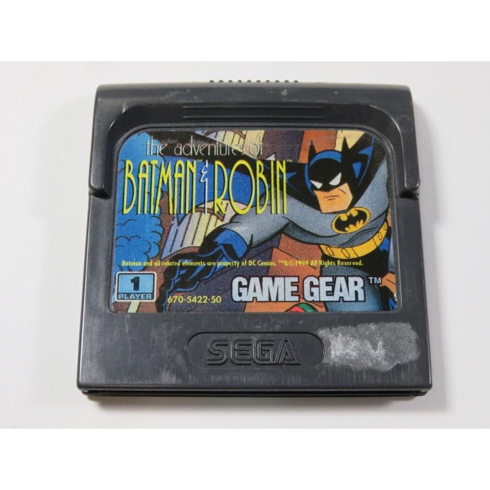 THE ADVENTURES OF BATMAN & ROBIN SEGA GAME GEAR EURO (CARTRIDGE ONLY)