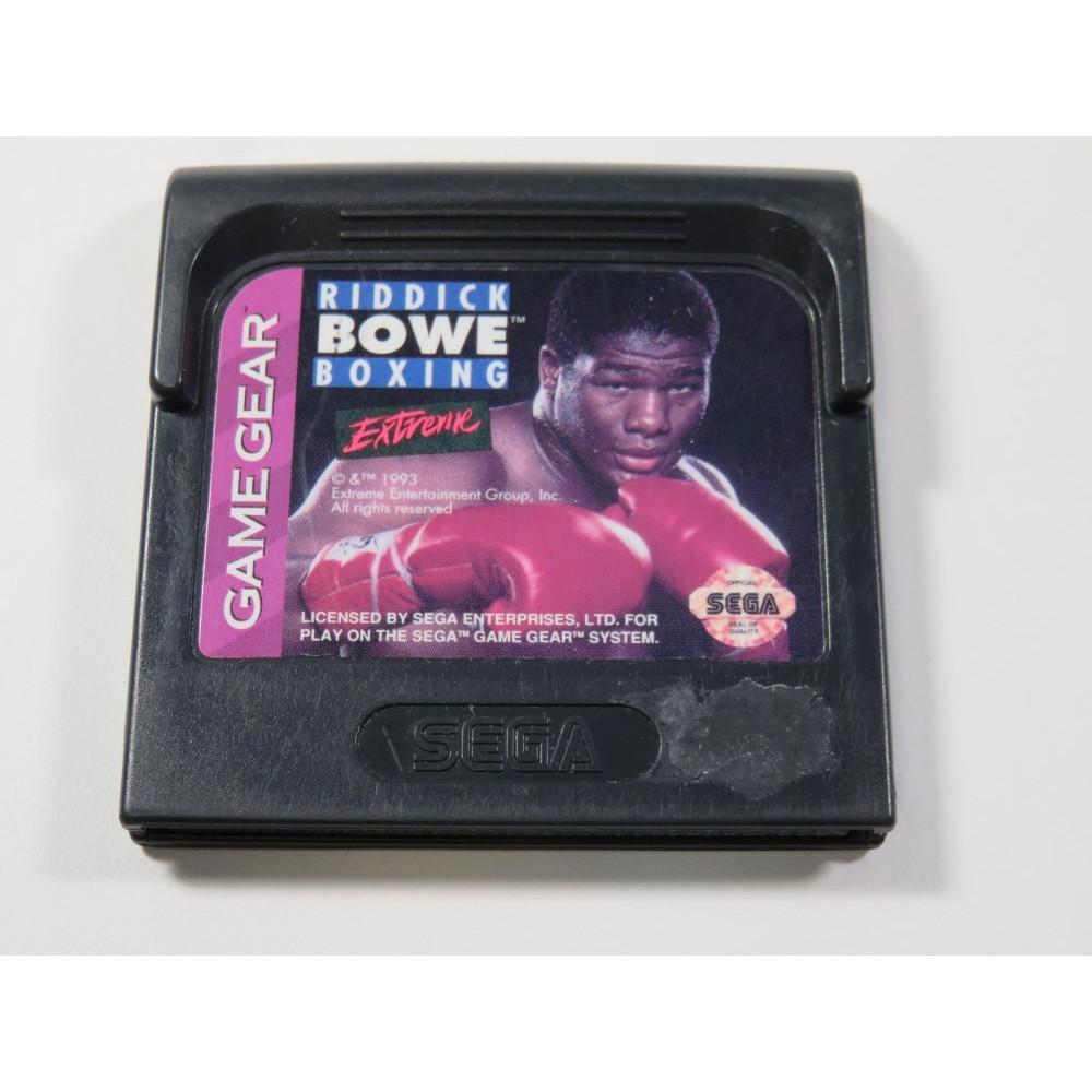RIDDICK BOWE BOXING EXTREME SEGA GAME GEAR USA (CARTRIDGE ONLY)