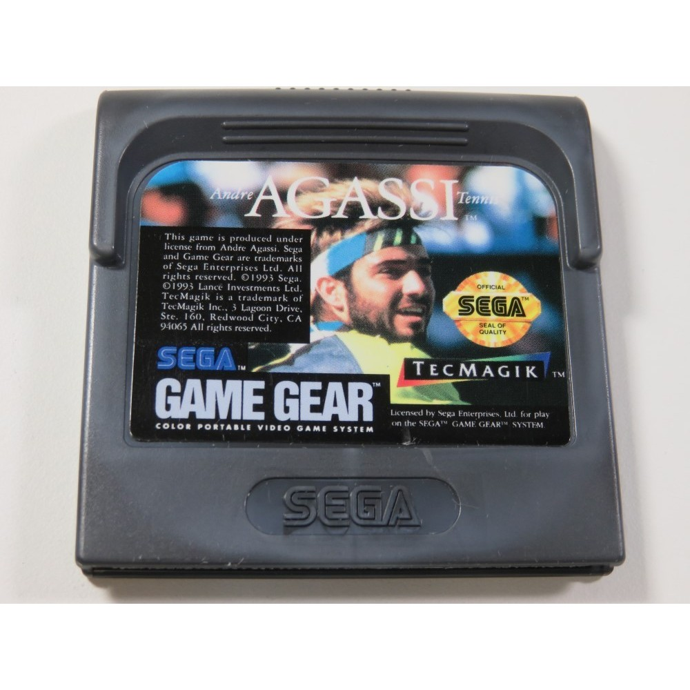 ANDRE AGASSI TENNIS SEGA GAME GEAR USA (CARTRIDGE ONLY)