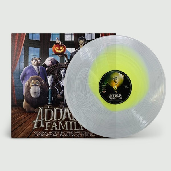 VINYLE THE ADDAMS FAMILY SOUNDTRACK (1 LIMITED EDITION THEMED COLORED LP) NEW