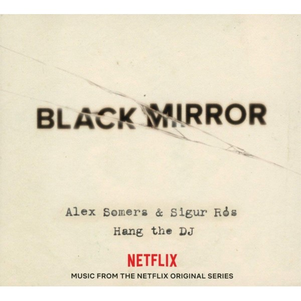 VINYLE BLACK MIRROR (HANG THE DJ) OST 1 WHITE COLORED LP NEW