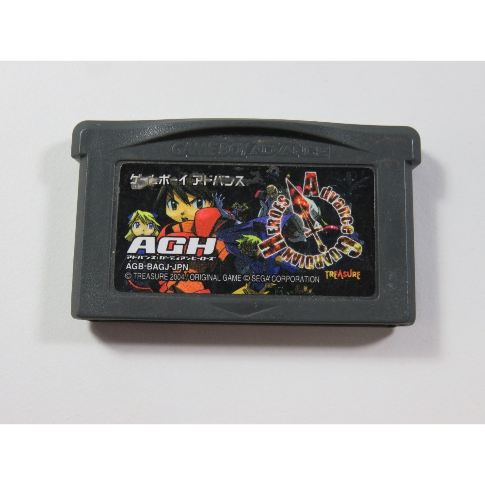 GUARDIAN HEROES ADVANCE GAMEBOY ADVANCE (GBA) JPN (CARTRIDGE ONLY - GOOD CONDITION)