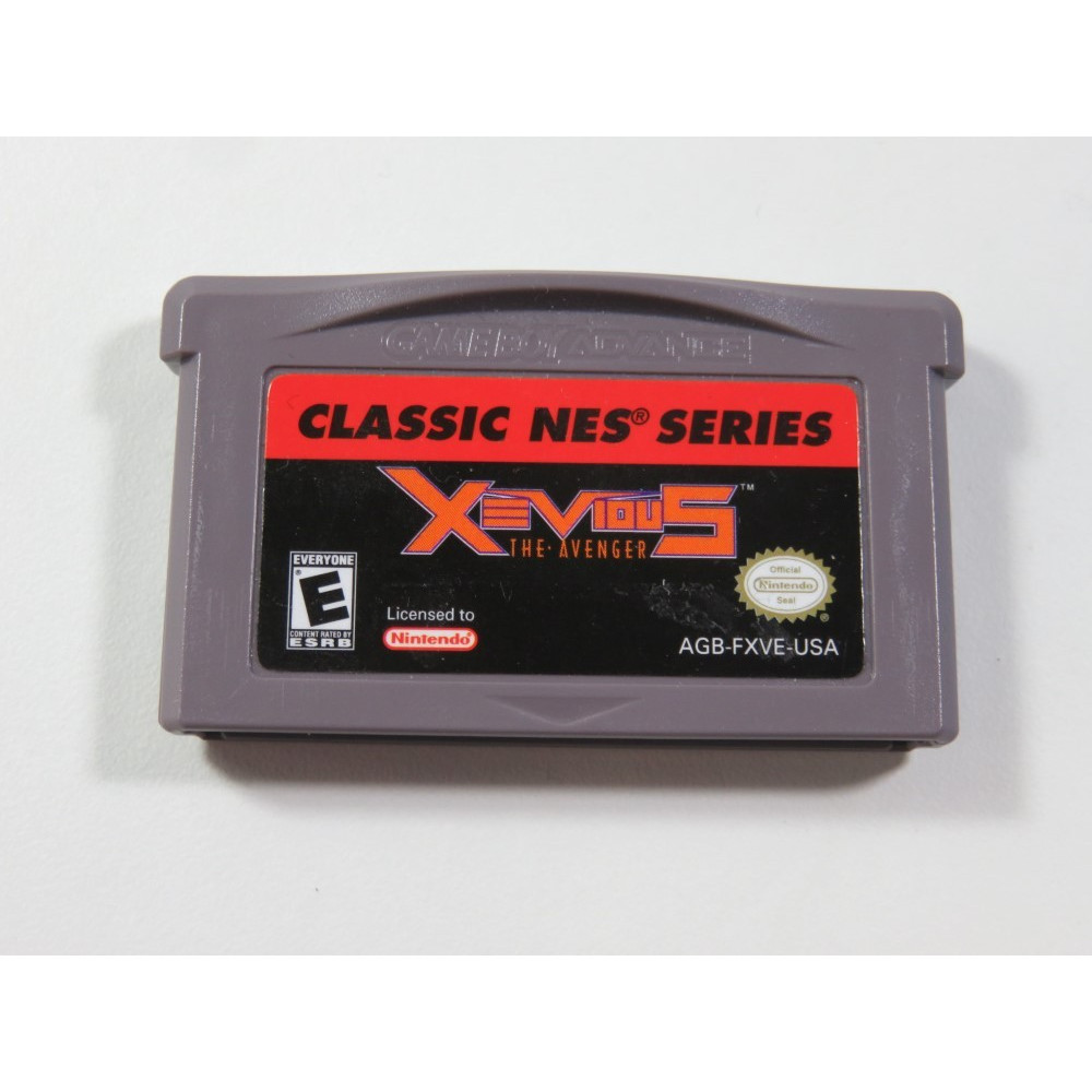 XEVIOUS NES CLASSICS GAMEBOY ADVANCE (GBA) USA (CARTRIDGE ONLY - GOOD CONDITION)