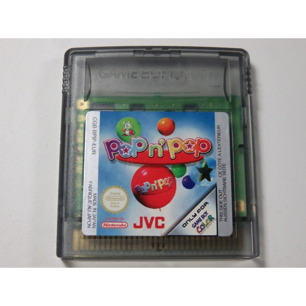 POP N POP GAMEBOY COLOR (GBC) EUR (CARTRIDGE ONLY)