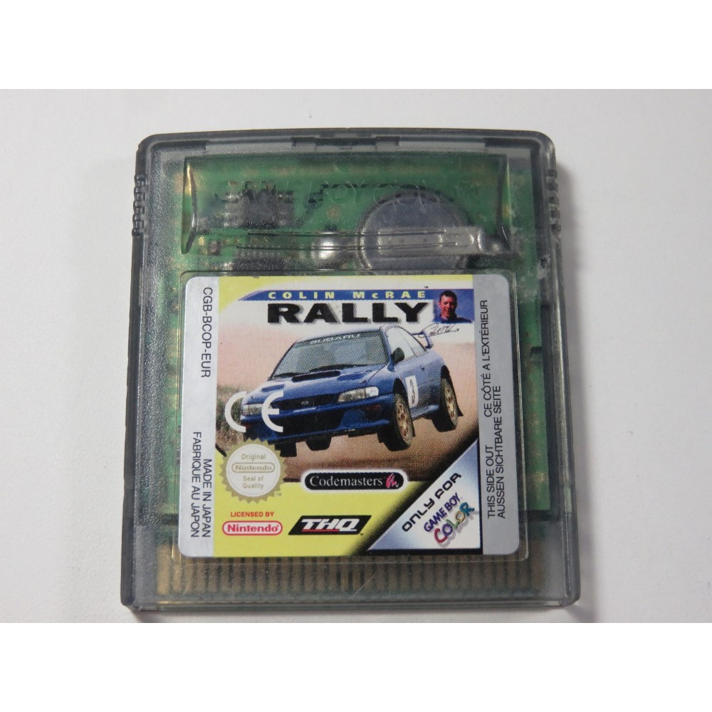 COLIN MCRAE RALLY GAMEBOY COLOR (GBC) EUR (CARTRIDGE ONLY)