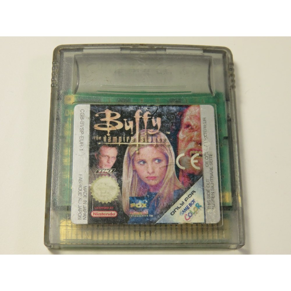 BUFFY THE VAMPIRE SLAYER GAMEBOY COLOR (GBC) EUR-1 (CARTRIDGE ONLY)