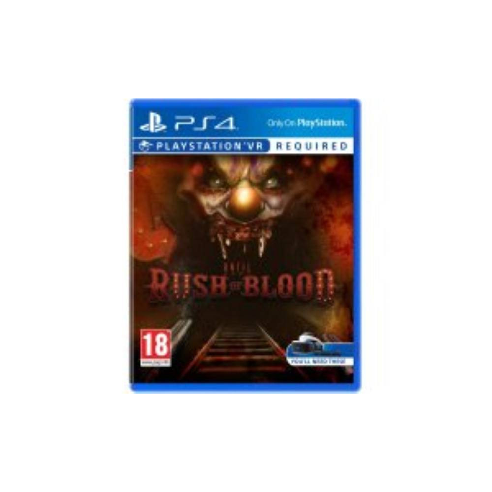 UNTIL DAWN RUSH OF BLOOD PS4 EURO NEW
