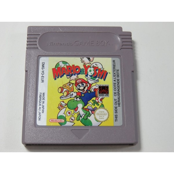 MARIO & YOSHI GAMEBOY (GB) EUR (CARTRIDGE ONLY)