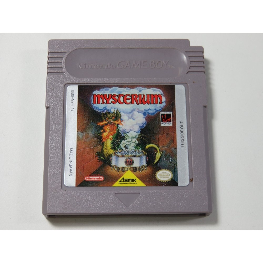MYSTERIUM GAMEBOY (GB) USA (CARTRIDGE ONLY)