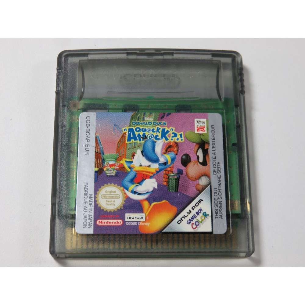 DONALD QUACK ATTACK?! GAMEBOY COLOR (GBC) EUR (CARTRIDGE ONLY)