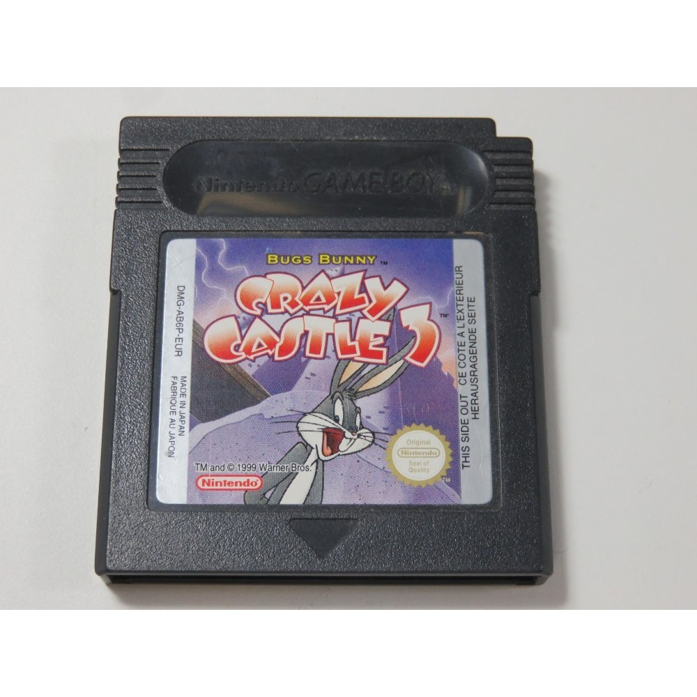 BUGS BUNNY CRAZY CASTLE 3 GAMEBOY COLOR (GBC) EUR (CARTRIDGE ONLY)