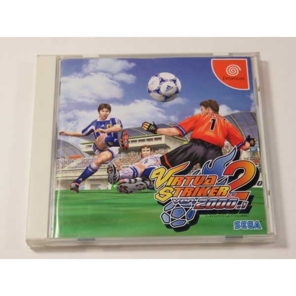 VIRTUA STRIKER VER.2000.1 DREAMCAST NTSC-JPN (COMPLETE - GOOD CONDITION) SOCCER