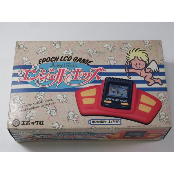 EPOCH LCD GAME ANGEL KIDS (COMPLETE WITH MANUAL - GOOD CONDITION)