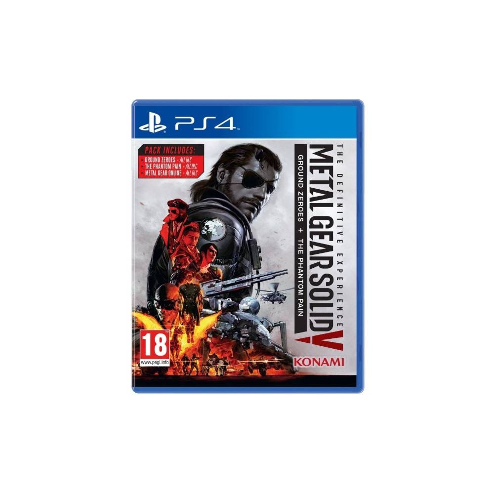 METAL GEAR SOLID V THE DEFINITIVE EXPERIENCE PS4 UK NEW