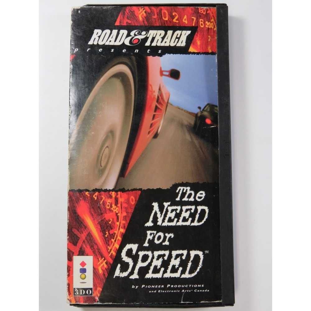 THE NEED FOR SPEED 3DO USA (SANS NOTICE - WITHOUT MANUAL) - (BIG BOX DAMAGED)