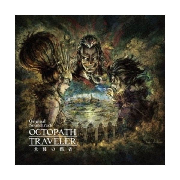 OCTOPATH TRAVELER: CHAMPIONS OF THE CONTINENT ORIGINAL SOUNDTRACK JAP NEW