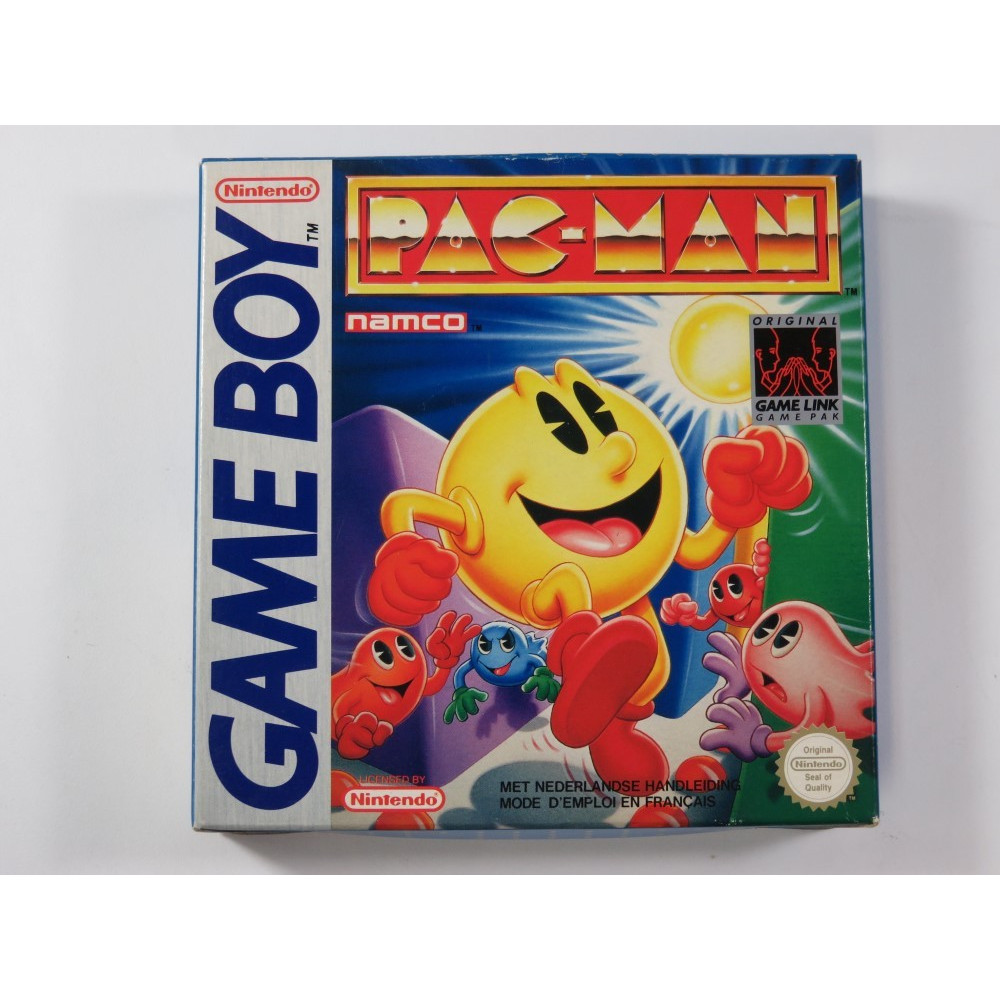 PAC-MAN GAMEBOY (GB) FAH (COMPLETE - VERY GOOD CONDITION)