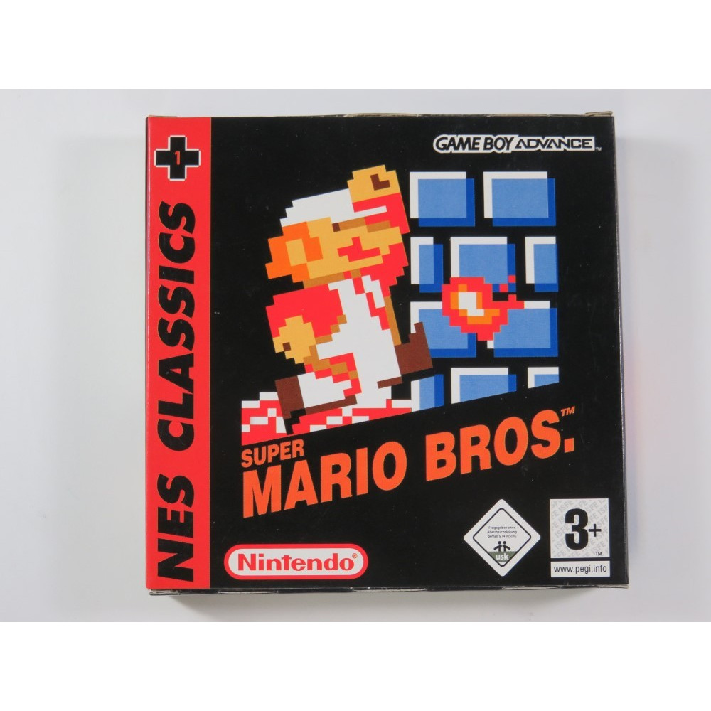 SUPER MARIO BROS (NES CLASSICS) GAMEBOY ADVANCE (GBA) EUR (COMPLETE - VERY GOOD CONDITION)