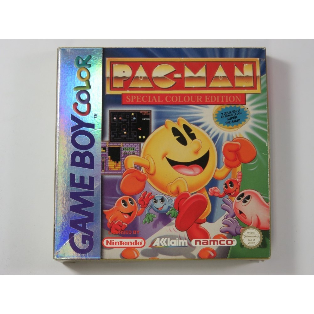 PAC-MAN SPECIAL COLOUR EDITION GAMEBOY COLOR (GBC) FAH (COMPLETE - GOOD CONDITION)