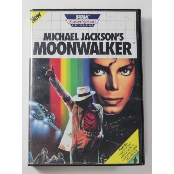 MICHAEL JACKSON S MOONWALKER SEGA MASTER SYSTEM USA (SANS NOTICE - WITHOUT MANUAL)