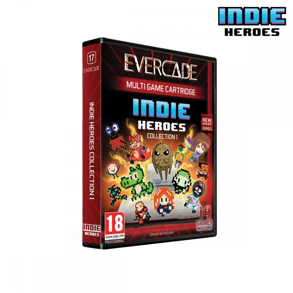 Blaze EverCade - Indie Heroes Collection 1 Cartouche 17 - Preorder